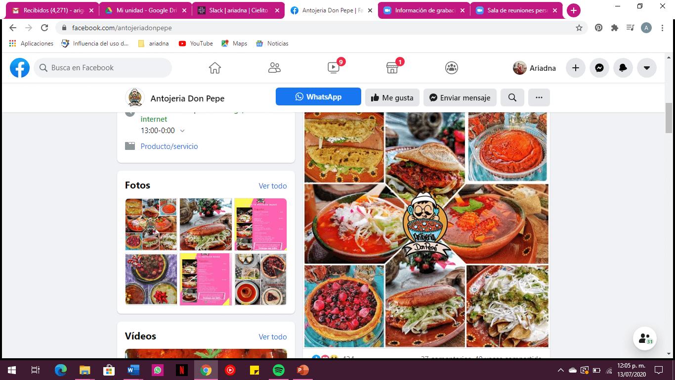 restaurante marketing