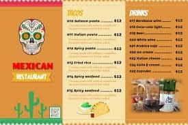 precios menu restaurante